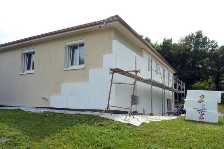 isolation par l'extérieure (ITE) - isolation RGE Grenoble
